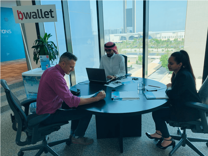 B Wallet Market Activations done by Gallure Ideas & Insights
